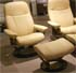 Stressless Diplomat Small Consul Batick Latte Leather