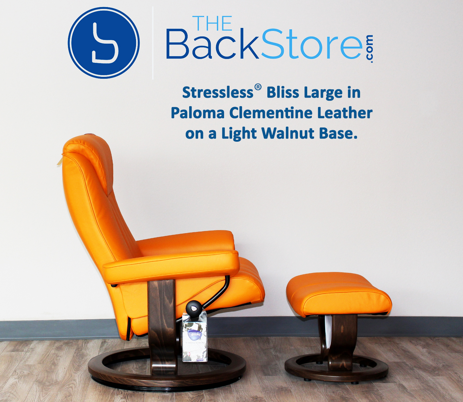 stressless recliner chair bliss paloma clementine leather and ottoman by ekornes - Stressless Chair