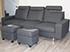 Stressless E200 3 Seat Sofa in the Paloma Black Leather