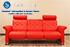 Stressless Metropolitan 3 Seat Sofa in Paloma Tomato Leather