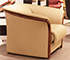 Ekornes Manhattan Stressless Chair Paloma Sand Leather