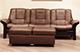Buckingham Stressless Sofa Paloma Brown Leather
