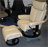 Stressless Magic Paloma Leather Recliner Chair and Ottoman