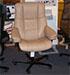 Stressless Mayfair Paloma Sand Leather Office Desk Chair