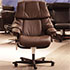 Stressless Reno Paloma Chocolate Leather Office Desk Chair