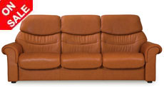 Stressless Liberty High Back Sofa, LoveSeat, Chair and Sectional by Ekornes