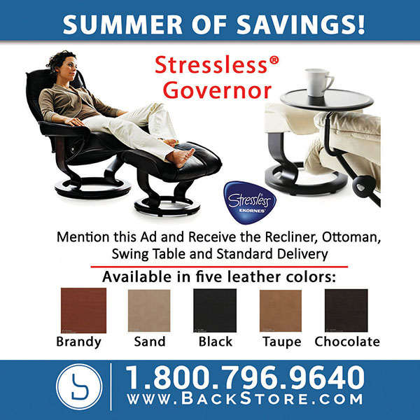Stressless Summer of Savings Sale