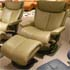 Stressless Magic Large Royalin Mole Recliner and Ottoman by Ekornes