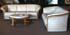 Ekornes Manhattan 2 Seat Sofa in Paloma Sand Leather
