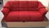 Ekornes Oslo 3 Seat Sofa in Cocoon Red Fabric