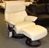 Stressless Spirit Large Recliner Chair and Ottoman in Paloma Kitt - Paloma Kitt Leather
