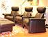 Stressless Legend 3 Seat Home Theatre Set - Paloma Black Leather