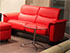 Stressless Panorama LoveSeat Sofa - Paloma Tomato Leather