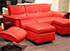 Stressless Panorama 3 Seat Sofa - Paloma Tomato Leather