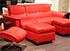 Stressless Panorama 3 Seat Sofa - Paloma Tomato Leather
