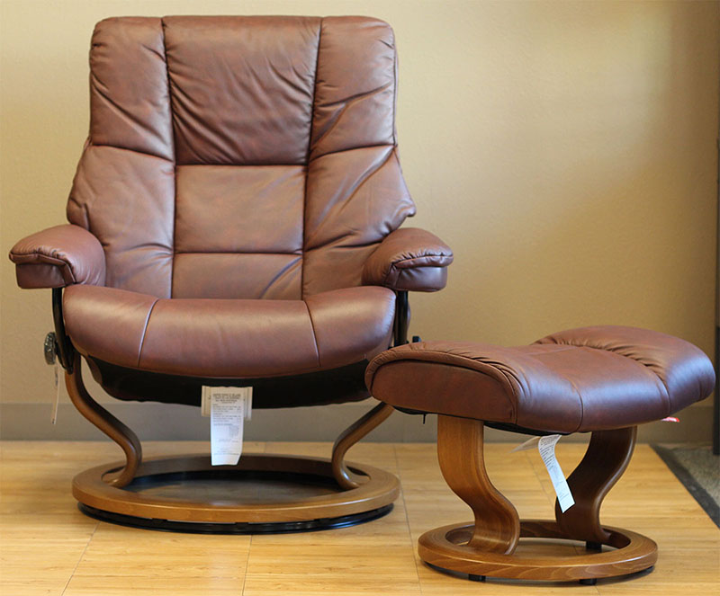 Stressless Paloma Cognac Leather by Ekornes - Stressless Paloma Cognac Leather Chairs Recliners
