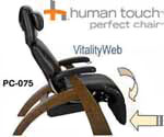 PC-075 Human Touch Perfect Chair Zero Gravity Recliner