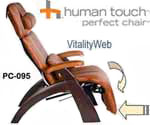 NEW Human Touch Perfect Chair Zero Gravity Recliner