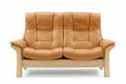 Buckingham High Back 2 Seat LoveSeat Sofa by Ekornes