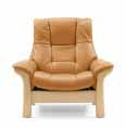 Buckingham High Back 1 Seat Chair by Ekornes