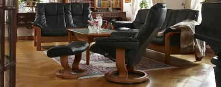 Buckingham High Back Sofa by Ekornes