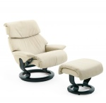 Stressless Dream Recliner chair and Ottoman by Ekornes