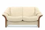 Granada Low Back 2 Seat Sofa, LoveSeat, Chair and Sectional by Ekornes