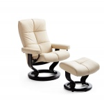 Stressless Recliners Chairs Stressless Oxford Medium Recliner by Ekornes