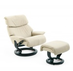 Stressless Spirit Recliner chair and Ottoman by Ekornes
