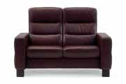 Stressless Wave 2 Seat High Back Sofa (Medium), LoveSeat, Chair and Sectional by Ekornes