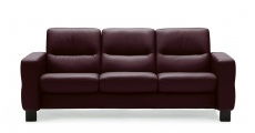 Stressless Wave 3 Seat Low Back Sofa (Medium), LoveSeat, Chair and Sectional by Ekornes