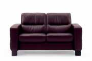 Stressless Wave 2 Seat Low Back Sofa (Medium), LoveSeat, Chair and Sectional by Ekornes