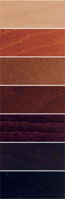 Stressless Wood Stain Finish Colors by Ekornes