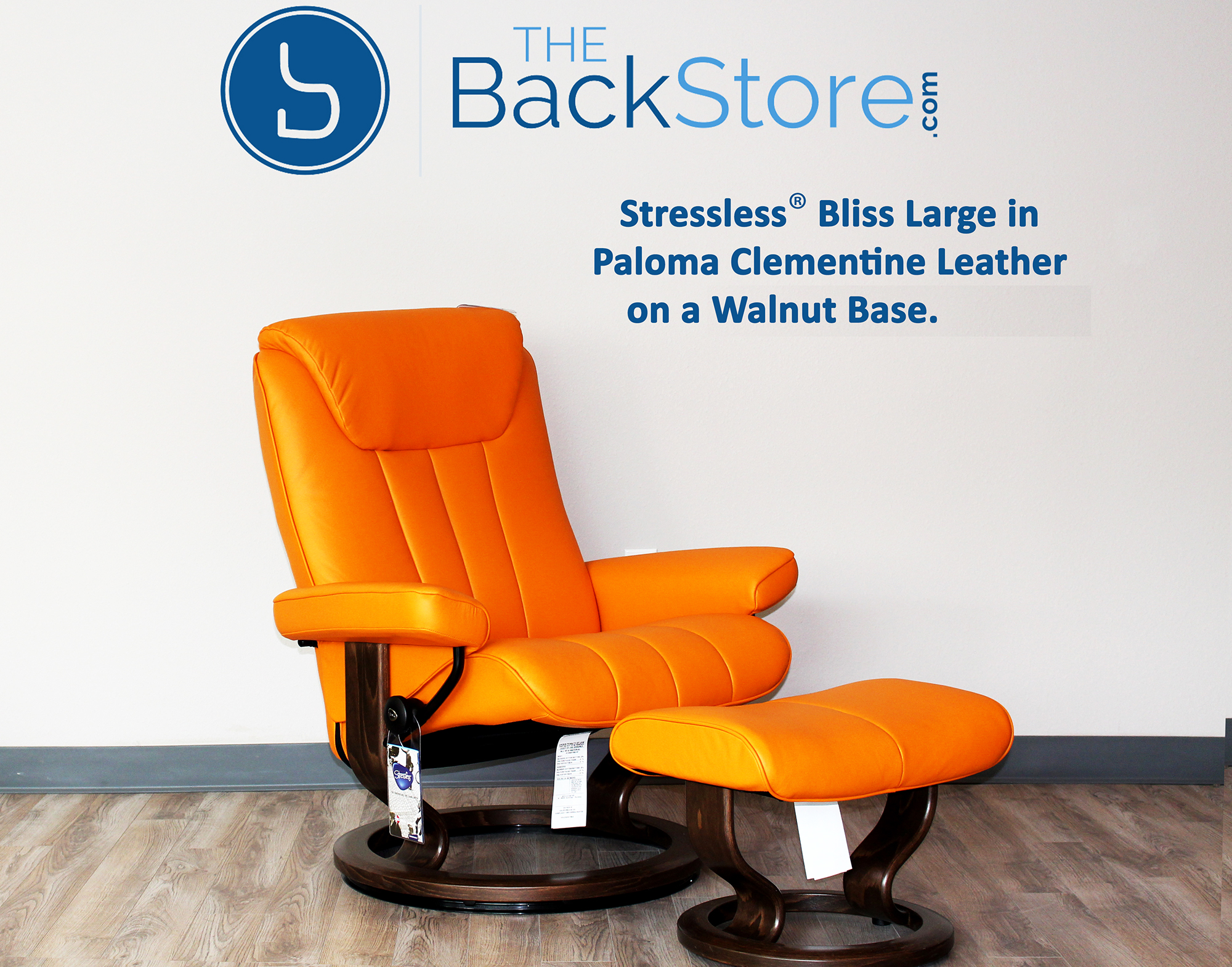 stressless bliss paloma clementine leather recliner chair by ekornes