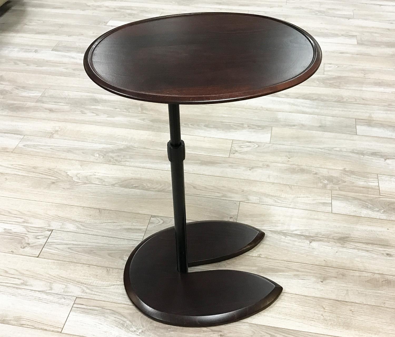 Beau Stressless Ellipse Walnut Wood Table