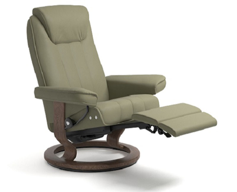 Miraculous Stressless Bliss Recliner Classic Wood Base Chair And Ottoman Caraccident5 Cool Chair Designs And Ideas Caraccident5Info