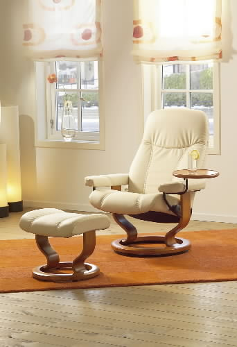 _ Stressless Diplomat Paloma Kitt Leather Recliner and Ottoman by Ekornes & Stressless Diplomat Small Consul Recliner Chair Ergonomic Lounger ... islam-shia.org
