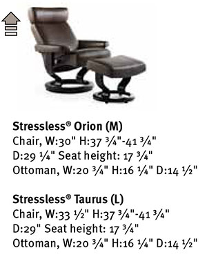 ekornes stressless orion taurus recliner chair lounger ekornes