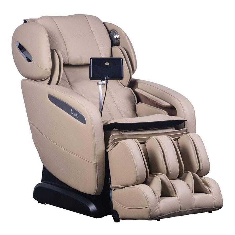 Osaki OS Pro Maxim S L Track Zero Gravity Massage Chair Recliner Ivory