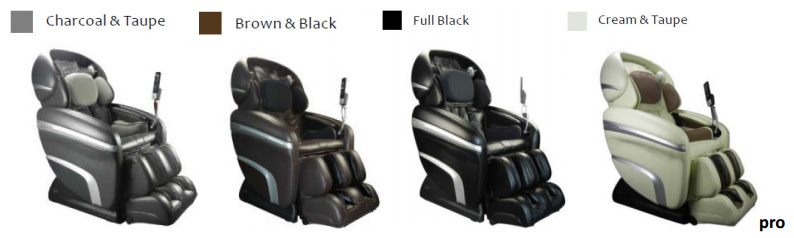 Osaki OS 3D Pro Dreamer Massage Chair Recliner Colors