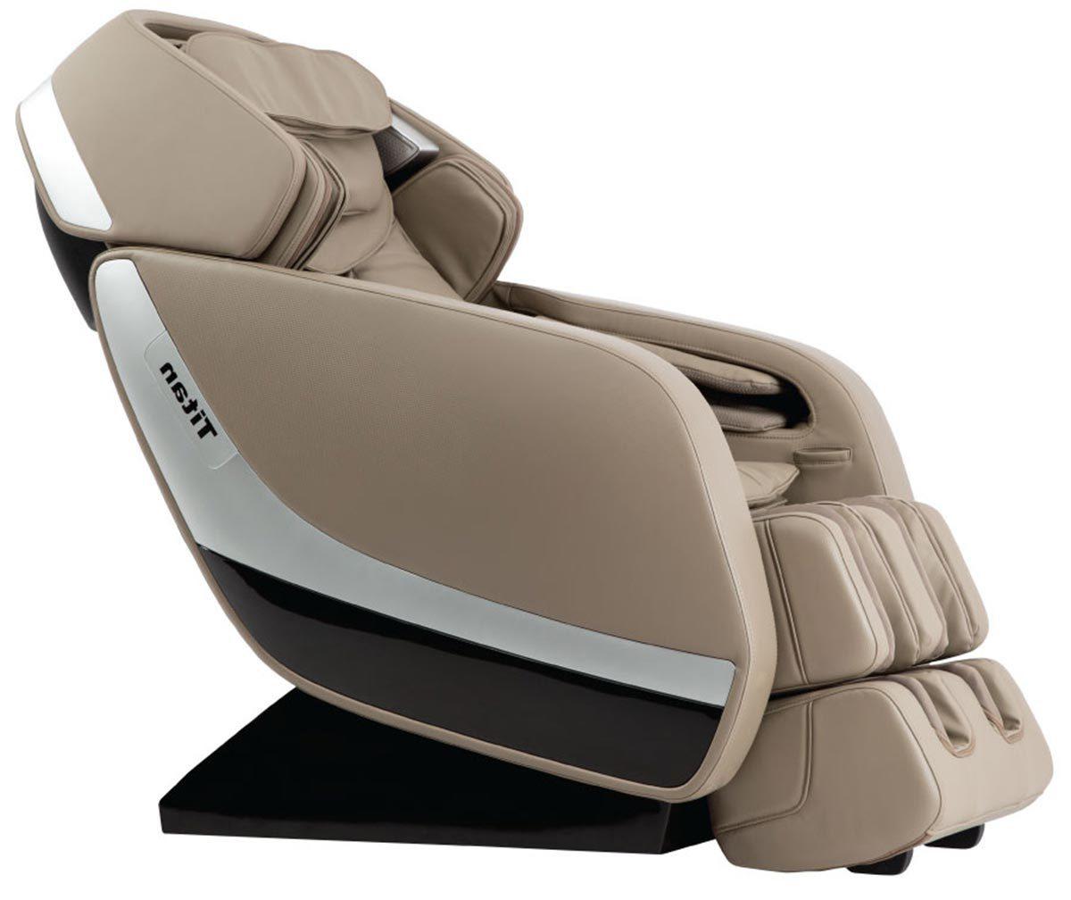 Titan Pro Jupiter Xl L Track Zero Gravity Massage Chair Recliner Beige