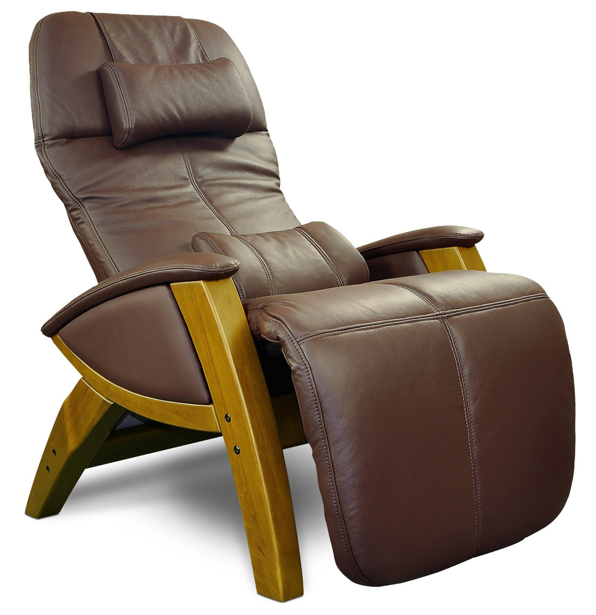 svago sv410 benessere chair chocolate leather zero gravity recliner